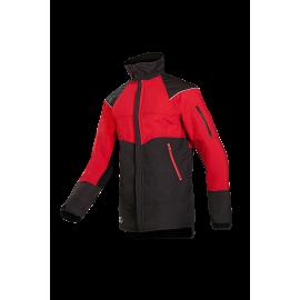 Veste anti-coupure Gris/Rouge EN 381-11 classe 1