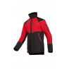 Veste anti-coupure Gris/Rouge EN 381-11 classe 1