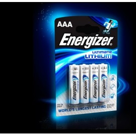 PILE ENERGIZER ULTIMATE LITHIUM AAA