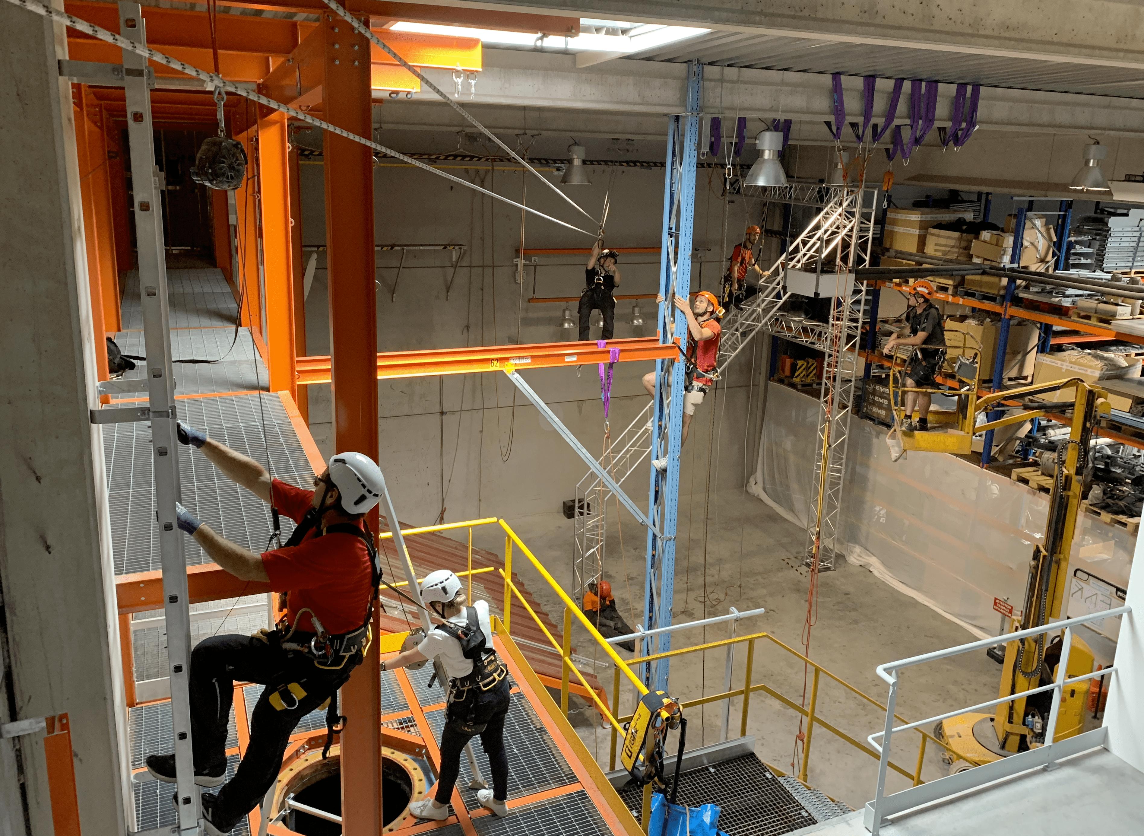 Location Structure de formation pour travaux en hauteur