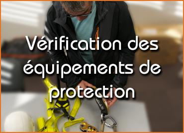 Verification des équipements de protection